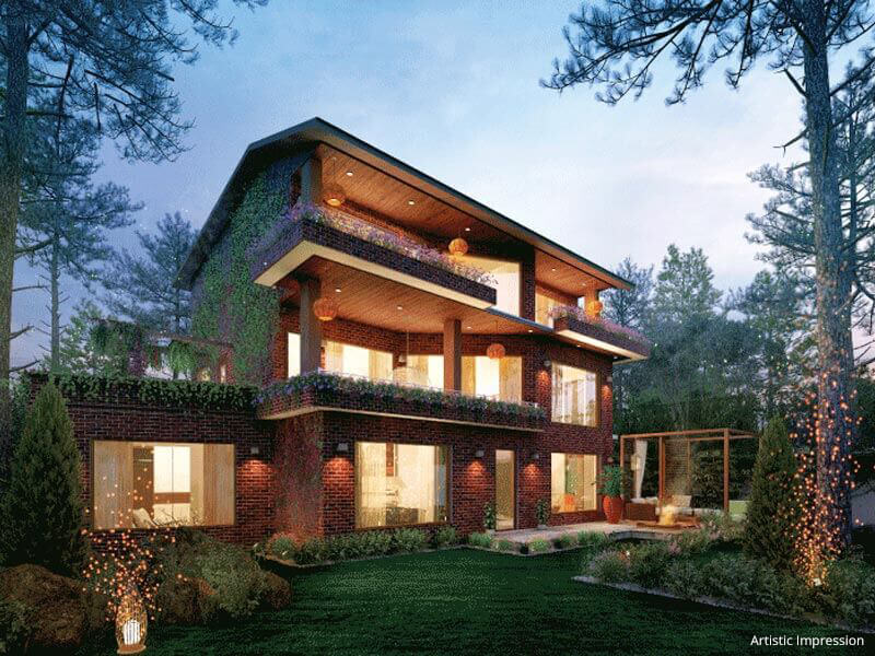 Luxury villas near shimla